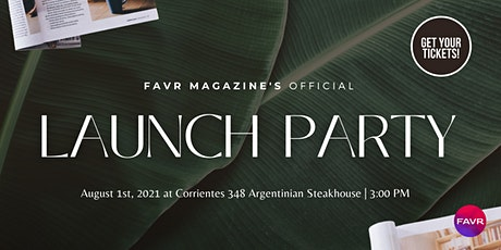FAVR Lifestyle Magazine's Inaugural  Launch Party-Dallas tickets