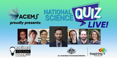 National Science Quiz - LIVE Studio Audience tickets