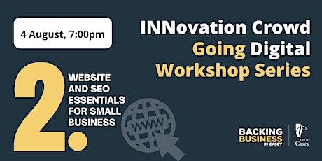 Going Digital Workshop - Website & SEO tickets