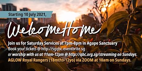 English Saturday Service (24 Jul) tickets