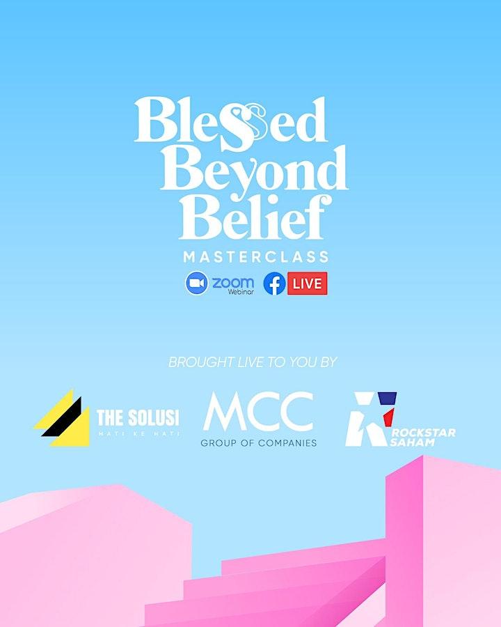 BLESSED BEYOND BELIEF MASTERCLASS [Daftar Percuma] image