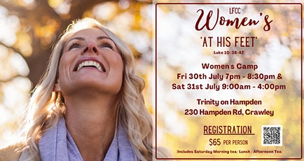 'At His Feet'- LFCC Women's Camp 2021 tickets