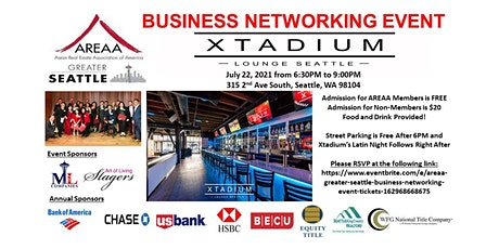 AREAA Greater Seattle Business Networking Event tickets