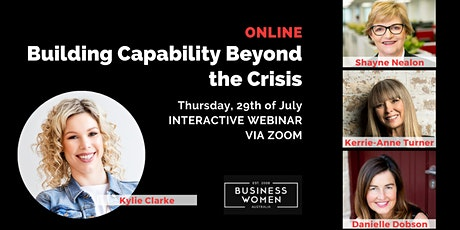 Online, BWA: Building Capability Beyond the Crisis tickets