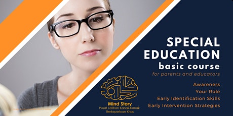 Special Education Basic Course - Session 1: Awareness tickets