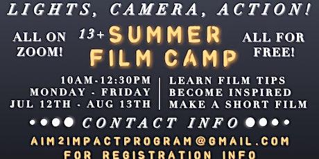SUMMER FILM CAMP 2021 tickets