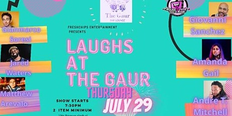 Laughs At The Gaur Comedy Show tickets