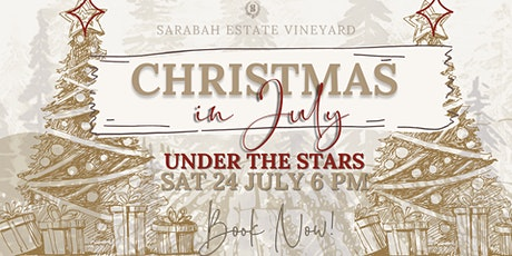 Christmas in July Under the Stars tickets