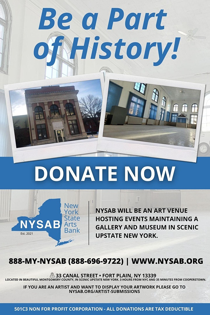 Alan Action Presents NYSAB.ORG and the 911 Memorial & Bud Fowler Museum image