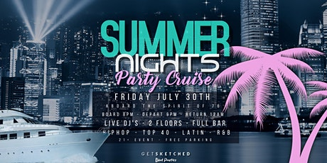 Summer Nights Party Cruise tickets