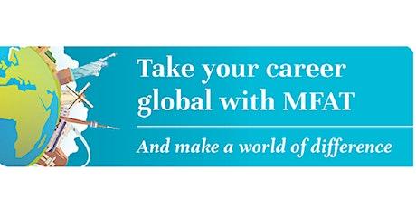 MFAT Graduate Recruitment Kōrero in Auckland tickets