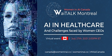 AI in Healthcare and Challenges faced by Women CEO's tickets
