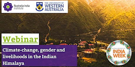 Climate-change, gender and livelihoods in the Indian Himalaya tickets
