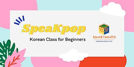 SpeaKpop Free Korean Class tickets
