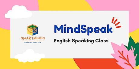 MindSpeak Free English Speaking Class tickets