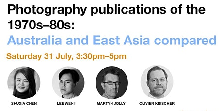 Photography publications of the 1970s-80s: Australia and East Asia compared tickets
