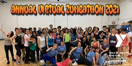 Annual Chinatown Y Virtual Zumbathon -Make Every Step Count! tickets