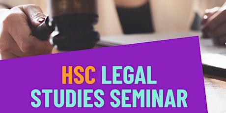 Let's Talk Legal - HSC Legal Studies Seminar tickets