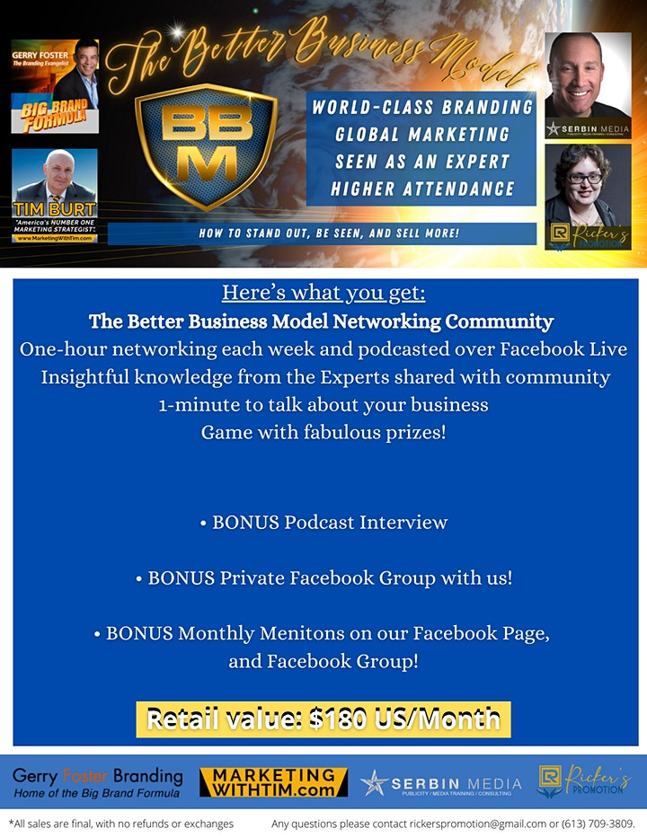 The Better Business Model Networking Community image