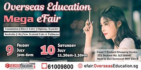 Overseas Education Mega E-Fair tickets