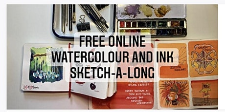 Free Sketching with Ink and Wash class tickets