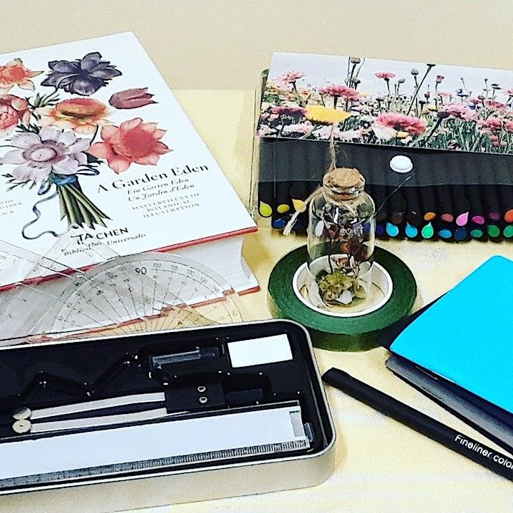 Botanical Line Drawing Workshop image