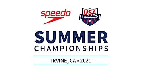 2021 Speedo Summer Championships - WEST hosted in Irvine, CA tickets