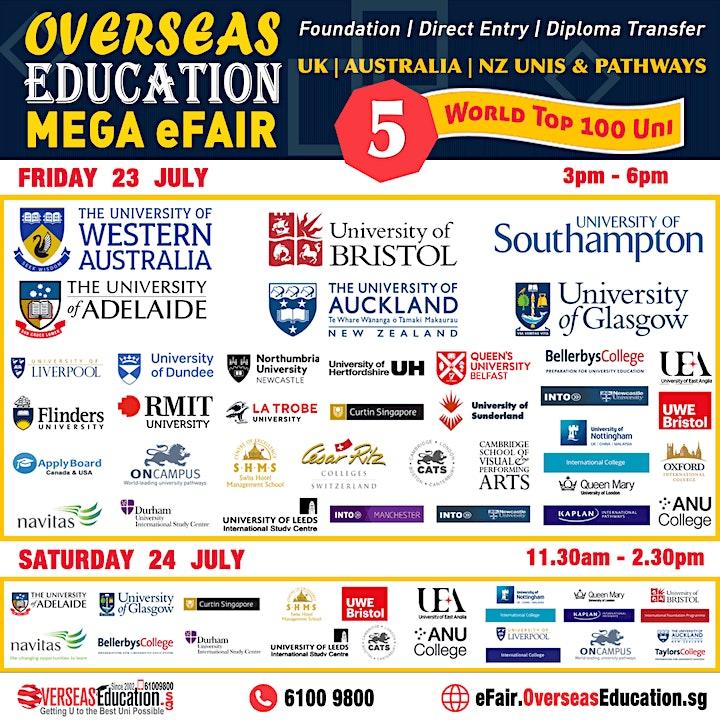 Overseas Education Mega E-Fair image