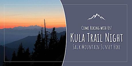 Kulas on the Trail: Sunset Hike to Sauk Mountain tickets