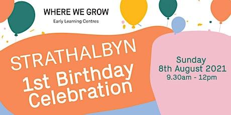 Where We Grow Strathalbyn First Birthday Celebration tickets