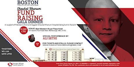 Shaukat Khanum Fundraising Gala Dinner in Boston, USA tickets