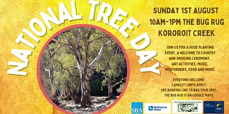 Friends of Kororoit Creek National Tree Day Celebration tickets