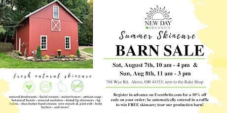 New Day Organics Barn Sale - Aug 7th-8th, 2021 tickets