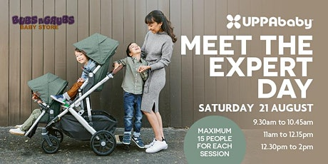 UPPAbaby MEET THE EXPERTS - Bubs N Grubs Brisbane tickets