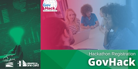 GovHack 2021 : Playford Library Registration tickets