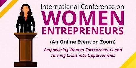International Conference on Women Entrepreneurs tickets