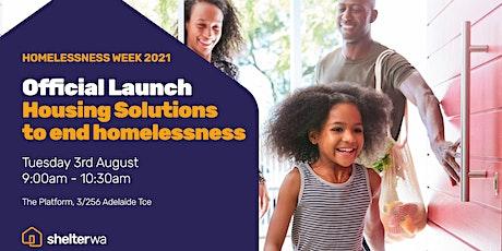 Homelessness Week 2021 - Official Launch tickets