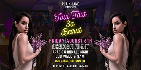 Tout Tout 3a Beirut (Plain Jane) tickets
