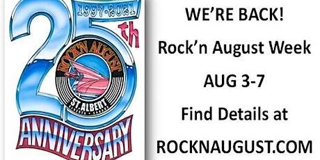 2021 Rock'n August Week tickets