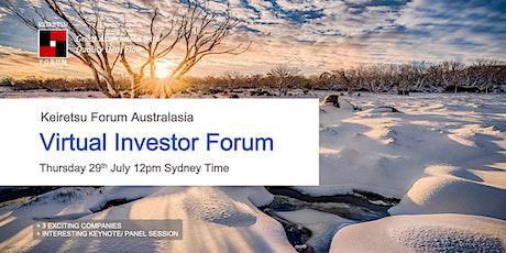 Keiretsu forum Australasia - July 2021 Virtual Chapter Meeting tickets