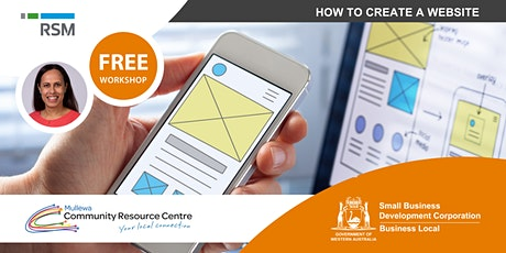 How to Create a Website (Mullewa) tickets