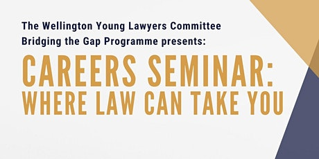 YLC Careers Seminar:  where law can take you tickets