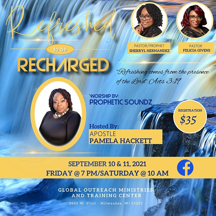 Refreshed to Be Recharged Conference image