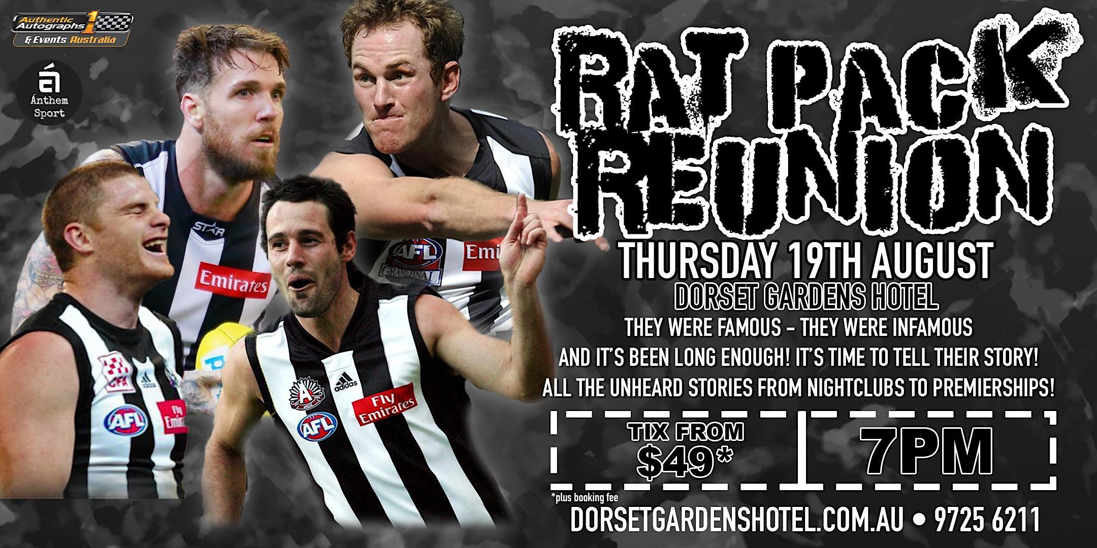 Rat Pack Reunion feat Swanny, Shaw, Didak & Johnson at Dorset Gardens Hotel