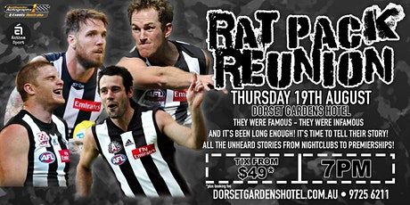 Rat Pack Reunion feat Swanny, Shaw, Didak & Johnson at Dorset Gardens Hotel tickets