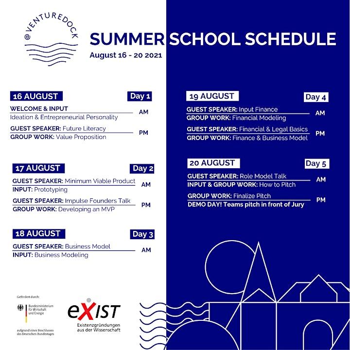 Join the first digtal @ventureDock Summer School image