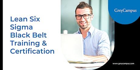 Lean Six Sigma Black Belt Training & Certification in Singapore tickets