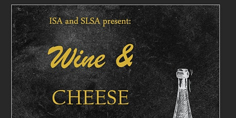 ISA x SLSA Wine and Cheese 2021 tickets