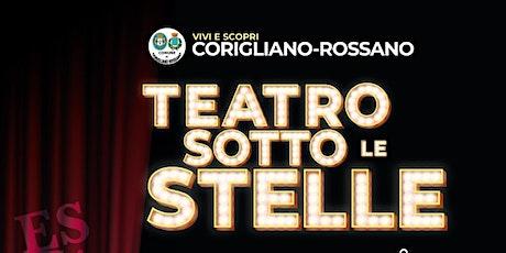 TEATRO SOTTO LE STELLE: 'AMORE... SONO IO' biglietti