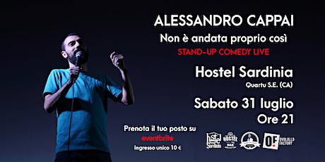 Alessandro Cappai @ Hostel Sardinia biglietti